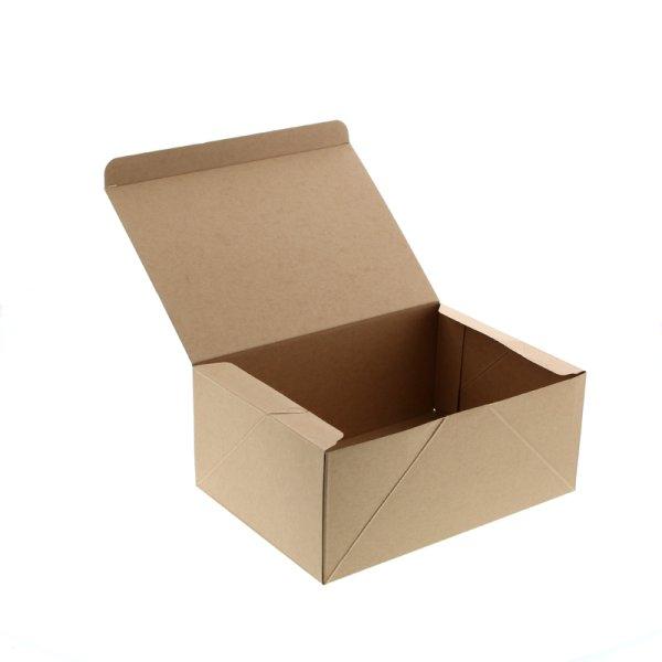 画像1: ケーキBOX LL (クラフト)#004248018 (1)
