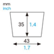 画像2: XM662 ケーキカップコロン(クリスマス)ミニカップ 100入 数量限定 (2)