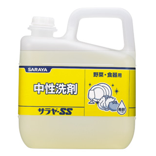 画像1: サラヤーSS 中性洗剤 5kg (1)