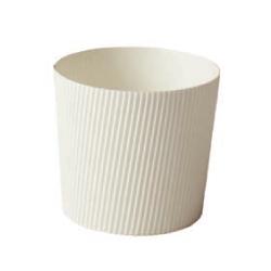 画像1: SC855 ミニシフォンカップ白無地(カップのみ)500枚 (1)