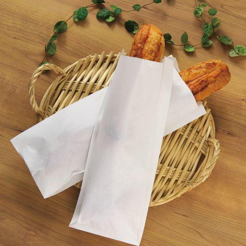 画像1: 明太フランスパン耐油袋(無地) (1)