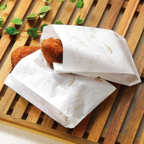 画像1: COOKパン耐油袋 S (1)