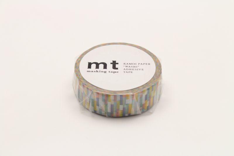 画像1: マスキングテープmt 1P ブロック・ブルー (1)