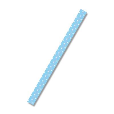 画像1: ポップタイ D-7 500P ベビーブルー(水玉) (1)