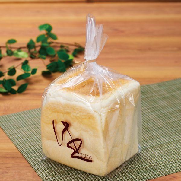 画像1: 食パン袋-生-1斤用 茶 IPP 100枚 (1)