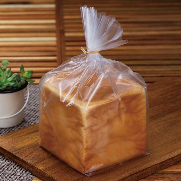 画像1: マットタイプ1斤用食パン袋 IPP (1)