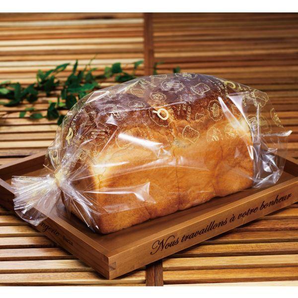 画像1: パンびより2斤用食パン袋 IPP 100枚 (1)