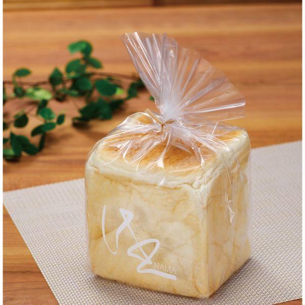 画像1: 食パン袋-生-1斤用 白 IPP 100枚 (1)