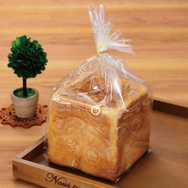 画像1: パンびより1斤用食パン袋 IPP 100枚 (1)