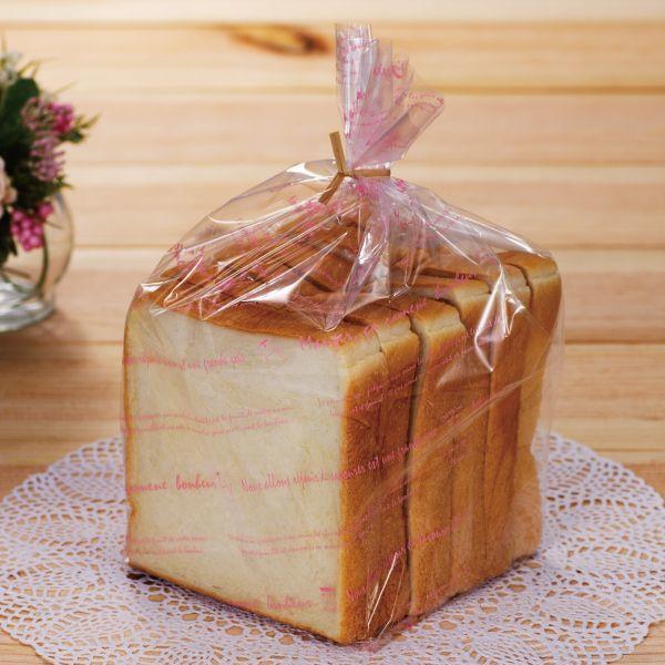 画像1: グランドゥジョア1斤用食パン袋(桜)IPP 100枚 (1)