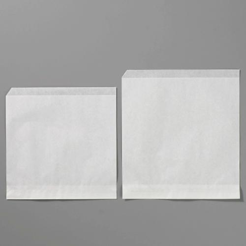 画像1: 純白袋 バーガー式 NO.200 500枚 (1)