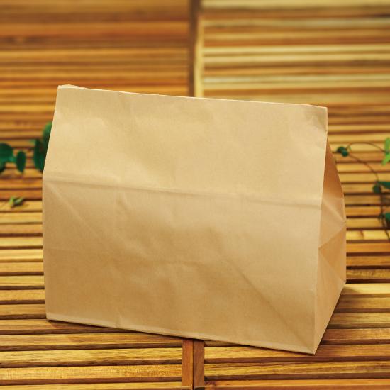 画像1: 2斤用角底袋 未晒 100枚 (1)