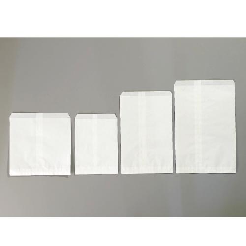 画像1: 純白袋 2号 ひもなし(500枚) (1)
