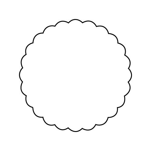 画像1: テイストシール 無地(300入) (1)